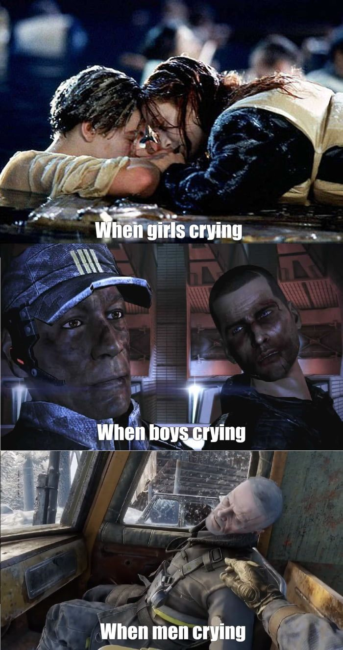 Just Finished Metro Exodus Farewell Colonel Miller Metro 2033 Boy Crying Crying Man
