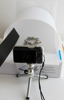 Excellent product photography tutorial > Natural Light Jewelry Photography with White Backgounds