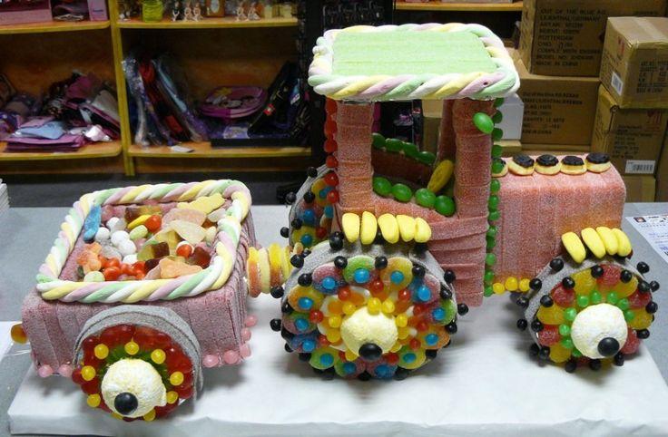 Image - TRACTEUR EN BONBON - Les jolis bonbons! - Skyrock.com