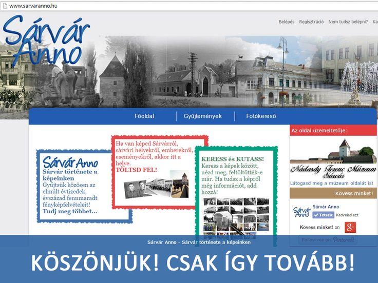 Európa tizenkét országában kerestek példákat arra, hogyan lehet az internetet közösségépítésre is használni. Közel ötven kezdeményezést találtak jónak, de minden országból kiválasztották a legjobbat is. Magyarországon ez a Nádasdy Ferenc Múzeum saját közösségi oldala, a Sárvár Anno - www.sarvaranno.hu lett!