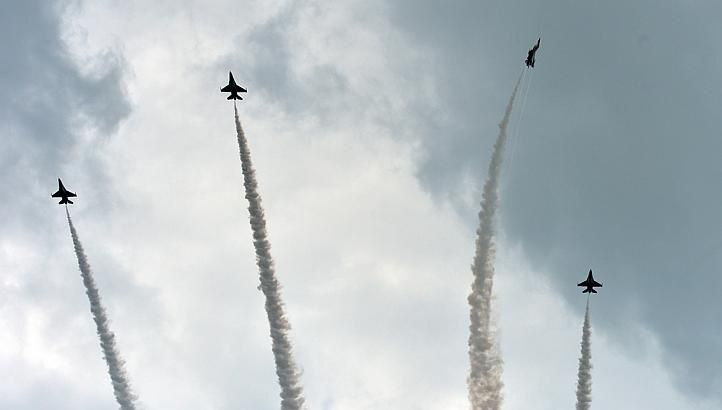 "SINGAPORE - The ""Missing Man"" formation by the Republic of Singapore Air Force's Black Knights, one of the most anticipated elements of the State Funeral procession for Mr Lee Kuan Yew, was not performed on Sunday."