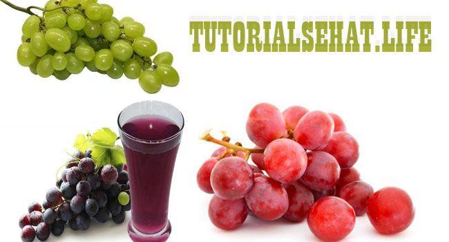 Manfaat Buah Anggur Untuk Kesehatan Tubuh - Buah anggur kaya akan vitamin A, B6, C dan mineral seperti potasium, magnesium, selenium, kalsium, fosfor dan zat besi.