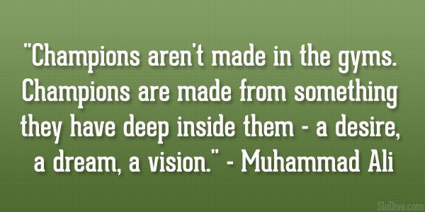 muhammad ali quote 31 Affectionate Famous Sports Quotes