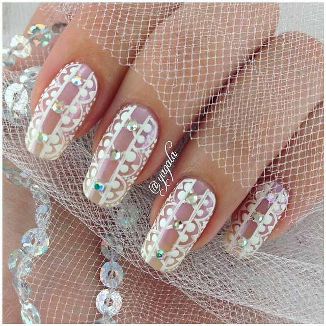 Wedding Nail Art Designs Gallery: 51 Best Nails - Wedding Ideas Images On Pinterest