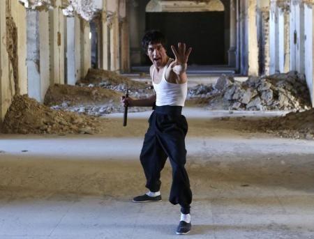 아프카니스탄 이소룡 청년     압바스 알리자다