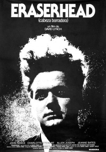 David Lynch's Eraserhead (cult film) this movie still to this day makes me laugh and scares me to death at the same time. I don't know if it is the lady in the radiator or the dancing poultry or the larvae baby or the..... It never ends!!