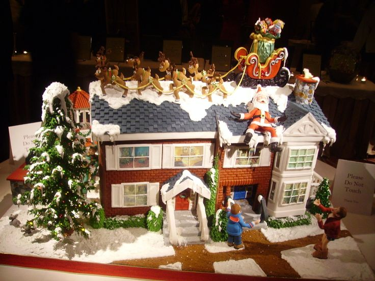 324 Best Gingerbread Houses Images On Pinterest