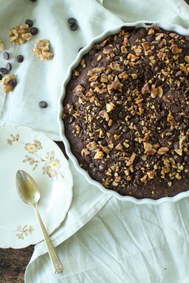 #frabloggerne - her får du det siste fra de beste norske matbloggerne: krem - Brownie i paiform - Godt.no - Finn noe godt å spise