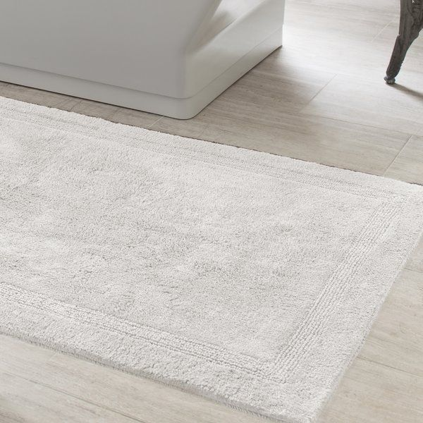 You Ll Love The Signature Bath Rug At Wayfair Great Deals On All Bed Bath Products With Free Shipping White Bath Rugs Large Bath Rugs Reversible Bath Rugs