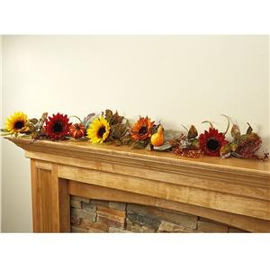 Harvest Sunflower Garland | Lillian Vernon - NEW Sale | Lillian Vernon