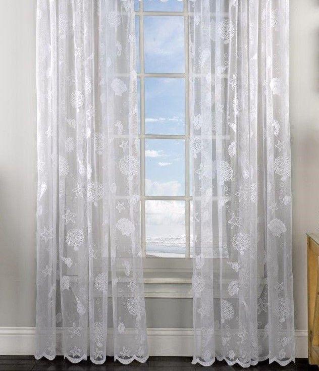 Home Curtains Panel Curtains White Curtains