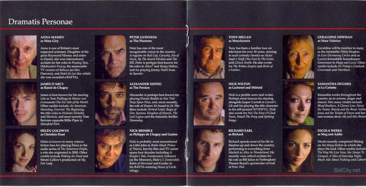 Phantom of the Opera audio book on youtube. great!: Books Cast, Opera Books, Audio Books