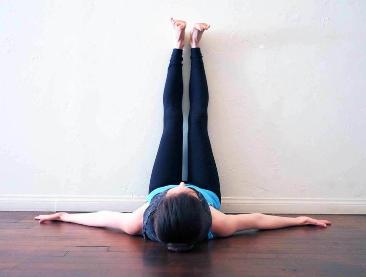 """It's the middle of the week and if your life is anything like mine, you need some serious """"me"""" time.  I am tired and tense and just need some genuine TLC.  The best form of that is through 15-30 minutes of yoga (maybe some ice cream too, right?) Here are five of my favorite stress reducing poses to get you through the rest of your week. Knees to Chest Lie on back, bring knees into chest, hug them, and rock from side to side. Breathe deeply into lower back and with each exhalation, allow…"""