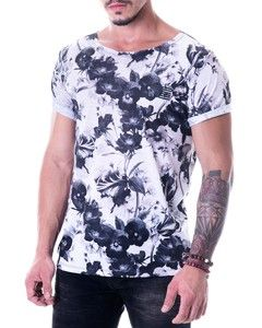 Camiseta Masculina - Floral FullPrint
