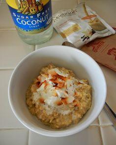 Coconut Cream Pie Protein Oatmeal