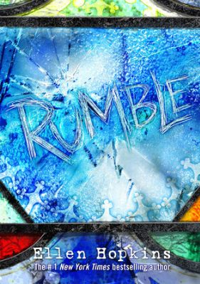 1 controlling star.RUMBLE,  by Ellen Hopkins, tells about the life of 18-year-old Matt, who has  been on edge ever since his younger brother Luke committed suicide.   Since then, his life has gone to shambles.  He's lost his brother, his  best friends, his parent's marriage is falling apart and his