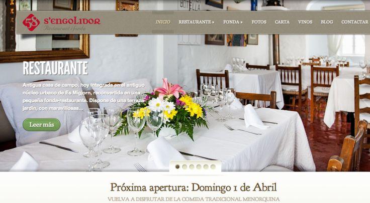 S'Engolidor, Restaurante y Fonda. Proyecto web con WordPress y SMO Plan