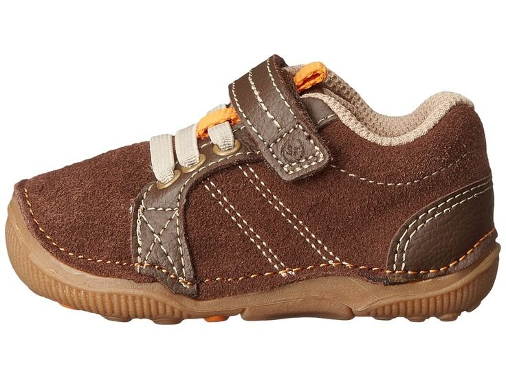 Stride Rite Brown Heart Shoes