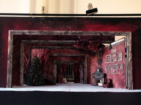 Marvelous Modelbox for Birmingham Royal Ballet us production of The Nutcracker designs by John Macfarlane