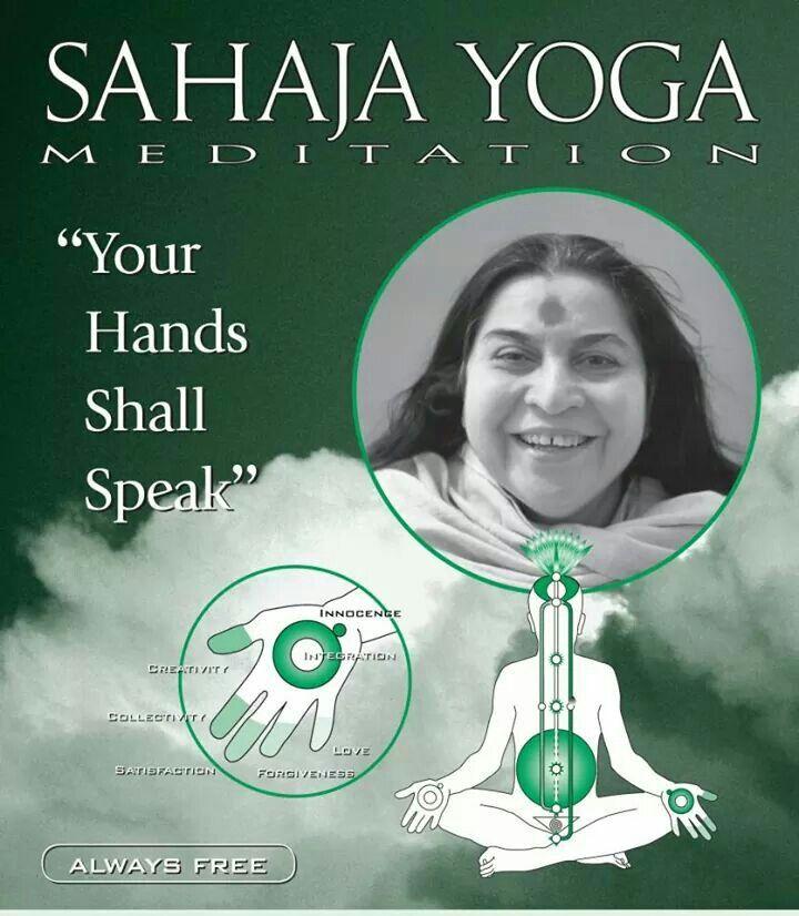 Sahaja Yoga Meditation: Is Real: Your hands will speak.