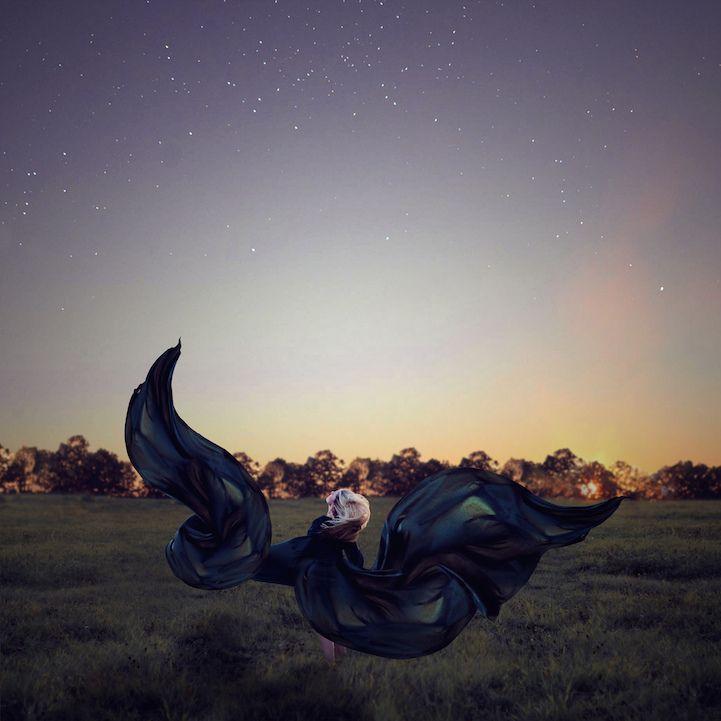 20-Year-Old Photographer's Compellingly Surreal Visual Narratives - My Modern Met #KatharinaJung