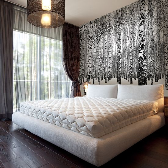 Znalezione obrazy dla zapytania tapety na ścianę 3d do sypialni