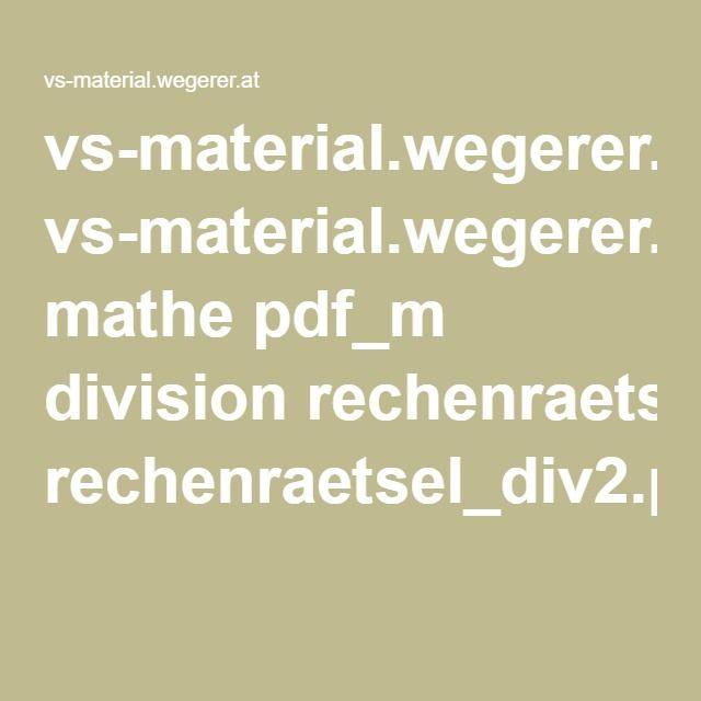 vs-material.wegerer.at mathe pdf_m division rechenraetsel_div2.pdf