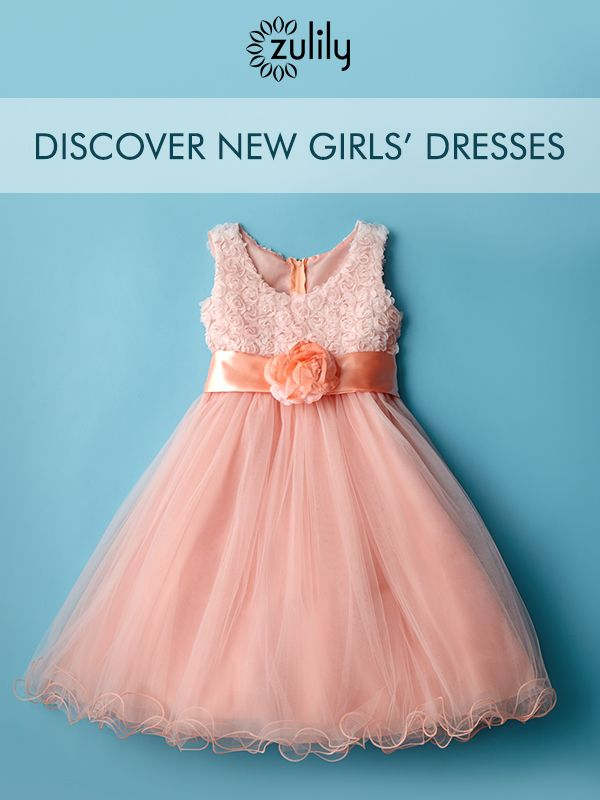 Discover Beautiful Little Girl's Dresses for Spring Up to 70% Off! Formal and casual styles for your little darling!