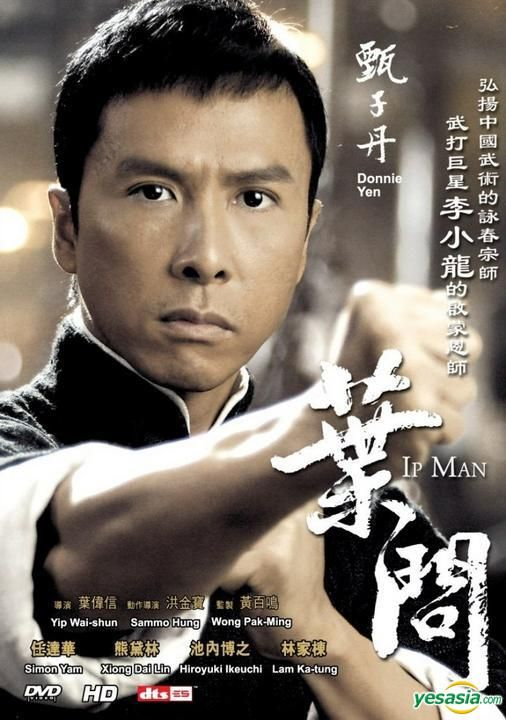 I'm a little bit in love with Donnie Yen right now.  Is it weird to shed a few tears during a Kung fu movie?  Of course it was from sheer awesomeness...