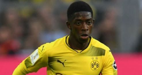 SPORTS: Barcelona Complete 105million Euros Dembele Signing from Borussia Dortmund