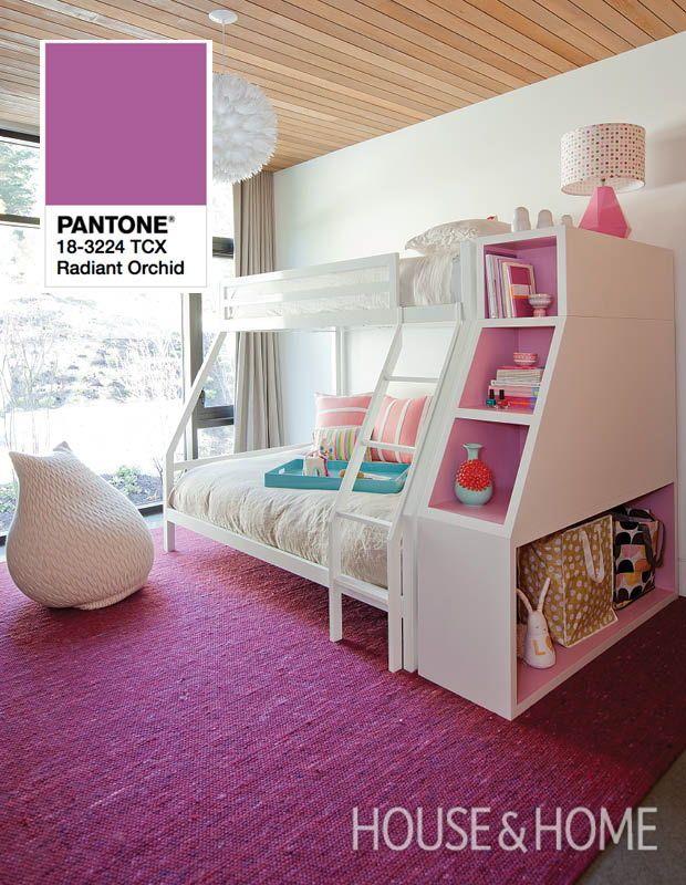 Vote For Your Favorite Pantone Color Of The Year Bunk Beds Girls Bedroom Girls Bedroom Kids Room Design