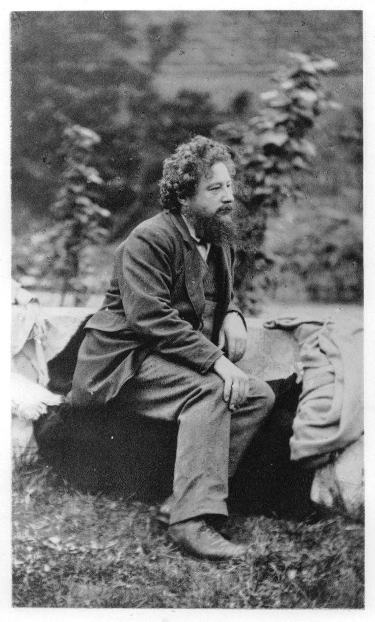 William Morris - brilliant artist, designer, author; forefather of the green movement; renaissance man.