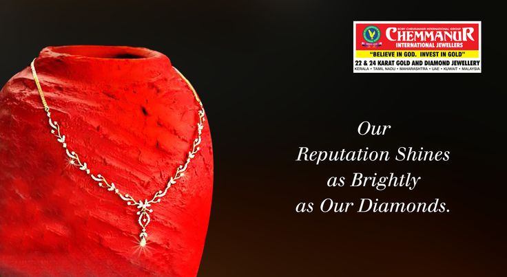 """""""Our Reputation Shines As Brightly As Our Diamonds."""""""