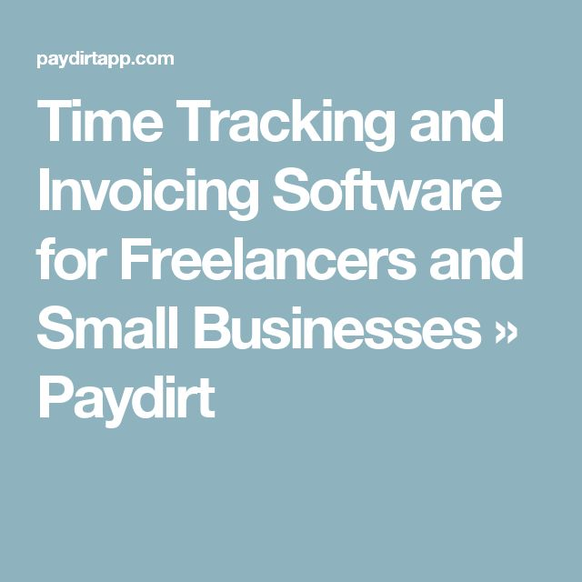 freelance time tracking iphone app