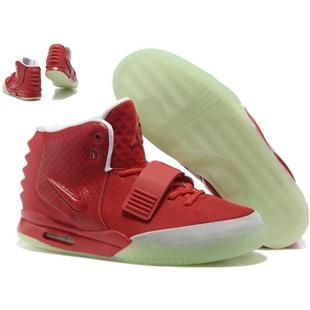 http://www.anike4u.com/ Nike Air Yeezy 2 Glow In The Dark Mens Shoes M9