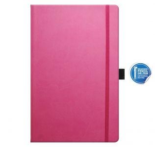 Promotional Ivory Tucson A5 notebook, Castelli medium notebook