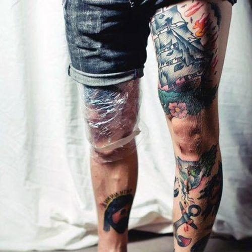 17 Best Ideas About Leg Tattoos For Men On Pinterest