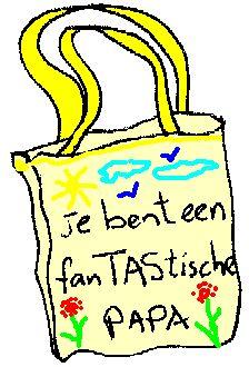 Knutselwerkje FanTAStische papa van knutselidee.nl