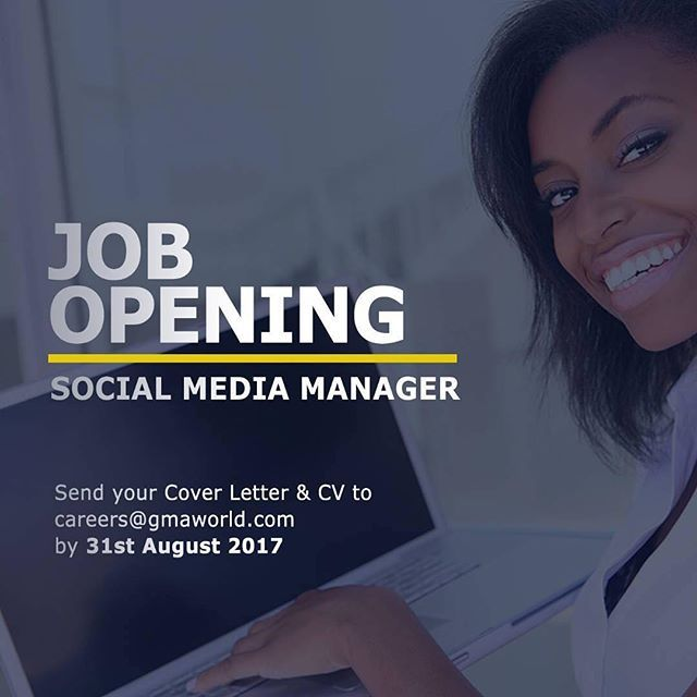 """""""WE ARE HIRING: Are you a social media marketing professional looking to take the next big step in your career? Here's your chance.  Come join our exciting digital team - send your updated CVs to careers@gmaworld.com #Social #SocialMedia #Marketing #Accra #Ghana #Jobs #Digital #DigitalMarketing"""" by @globalmediaalliance. #biztip #marketinglife #smtips #instagramforbusiness #smallbusinessowner #webmarketing #salesfunnel #listbuilding #makingmoney #growthhacking #content #entrepreneurship…"""