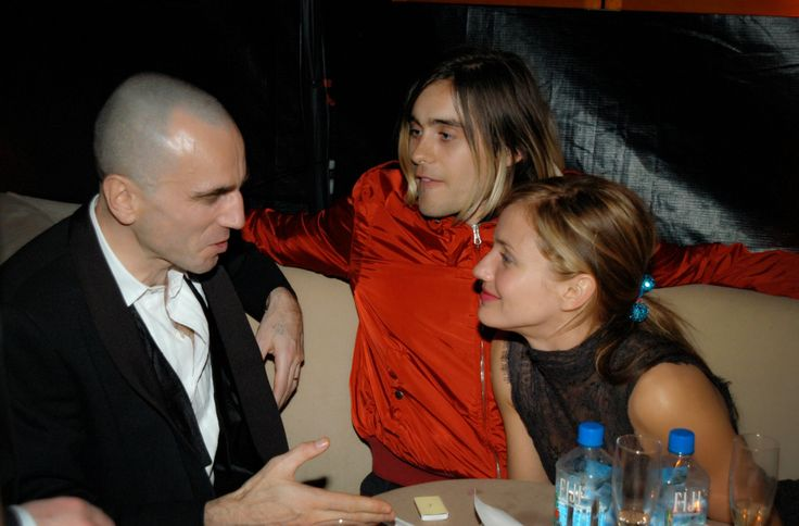 JARED LETO and CAMERON DIAZ   (with Daniel Day Lewis)