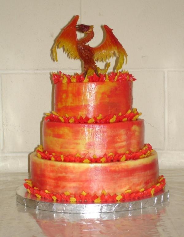 7 best Cakes Phoenix images on Pinterest Amazing cakes