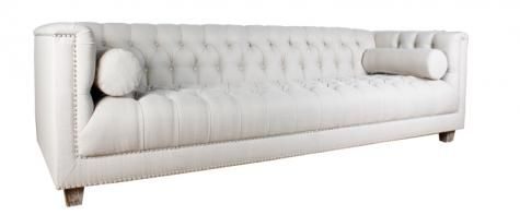 Introducing the Bruno sofa. Available at all Block & Chisel stores.