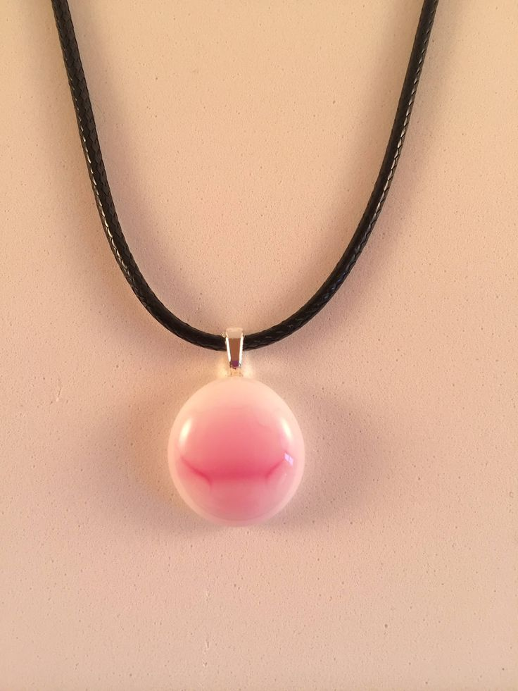 Pretty in Pink Pendant by TrueNorth45Creations on Etsy