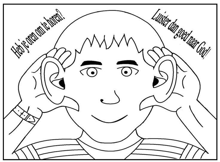 heb je oren om te horen? luister dan goed naar god