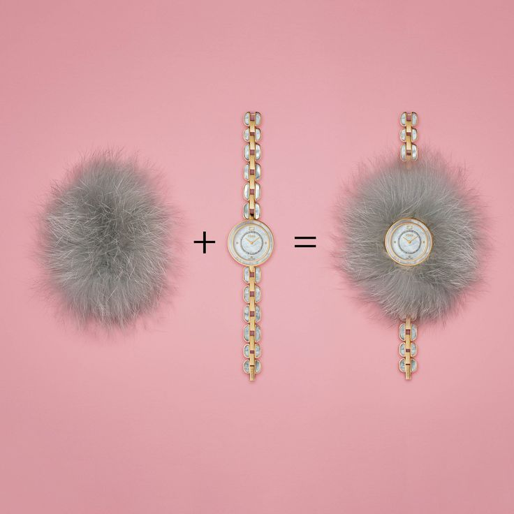 Your wrist is about to get way more glamorous with the Fendi My Way collection! Interchangeable and super-girly