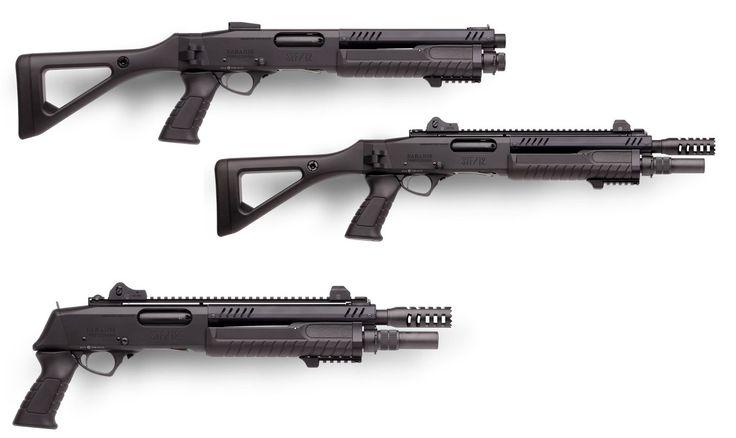 FABARM STF-12, fucile a pompa modulare - Fabarm - all4shooters.com