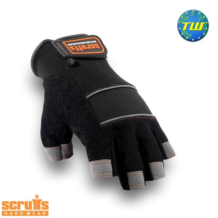 http://www.twwholesale.co.uk/product.php/section/10257/sn/Scruffs-Fingerless-T50991 Scruffs Fingerless Gloves have a fingerless arrangement that helps provide you with maximum manoeuvrability and dexterity great for detailed tasks.