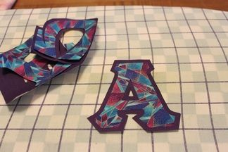 Awesome step-by-step tutorial on stitched letter shirts
