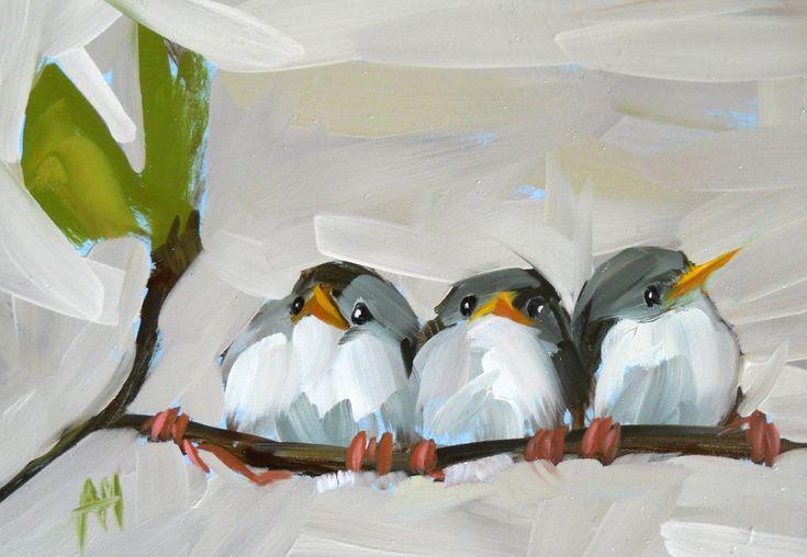 Three Barn Swallows Print