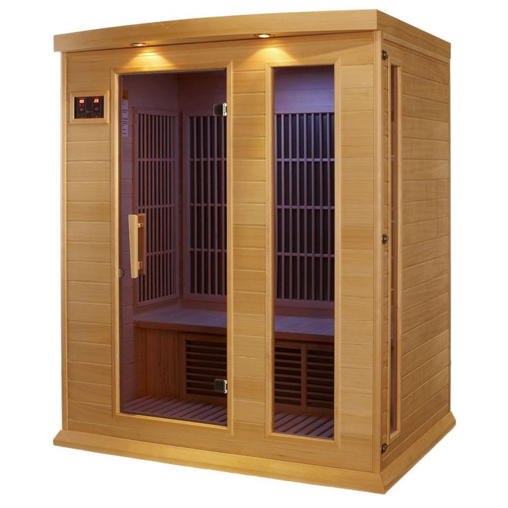 Maxxus 3-person MX-K306-01 Cedar Wood Infra Sauna